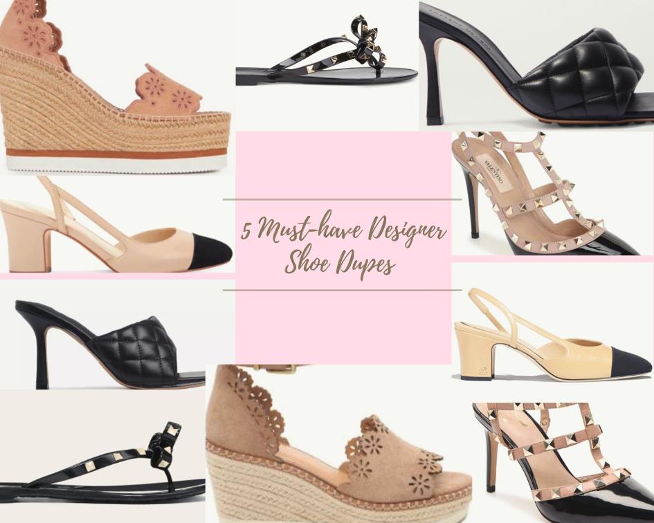 5 Must-Have Designer Shoe Dupes